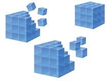 Cubo Imágenes de archivo libres de regalías