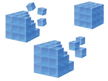 Cubo Imagens de Stock Royalty Free