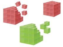 Cubo Fotografía de archivo libre de regalías