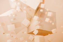 cubo Foto de archivo libre de regalías