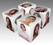 Cubo Fotos de archivo libres de regalías