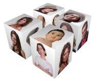 Cubo Immagine Stock