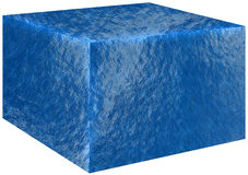 Cubo, agua del océano del mar aislada