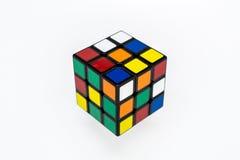Cubo colorido de Rubik para los niños Imagen de archivo libre de regalías