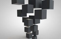 Cubo-cubos Fotografía de archivo libre de regalías