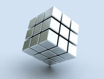 cubo 3d ilustração royalty free
