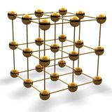 Cubo da esfera Fotografia de Stock Royalty Free