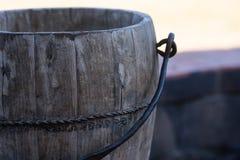 Cubo de agua Imágenes de archivo libres de regalías