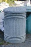 Cubo de basura Foto de archivo libre de regalías