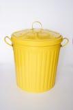 Cubo de basura Fotografía de archivo libre de regalías