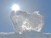 Cubo de gelo Imagens de Stock Royalty Free
