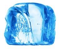 Cubo de gelo Fotografia de Stock Royalty Free