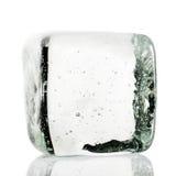 Cubo de hielo Fotografía de archivo