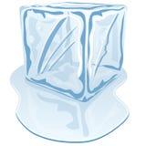 Cubo de hielo Foto de archivo
