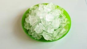 Cubo de hielo Foto de archivo libre de regalías