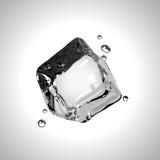 Cubo de hielo del vector EPS10 Foto de archivo libre de regalías