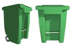 Cubo de la basura Fotos de archivo