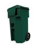 Cubo de la basura de la basura Imagen de archivo