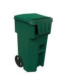 Cubo de la basura de la basura Imagen de archivo libre de regalías