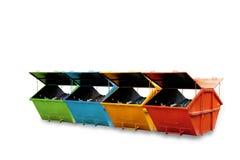 Cubo de la basura industrial (contenedor) para la basura municipal o el industria imagen de archivo libre de regalías