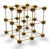 Cubo de la bola ilustración del vector