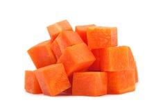 Cubo de la zanahoria Foto de archivo