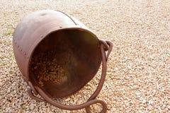 Cubo de los tizones Imagen de archivo
