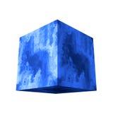 Cubo de mármore Fotos de Stock Royalty Free