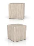 Cubo de madera Fotos de archivo libres de regalías