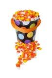 Cubo de pastillas de caramelo Foto de archivo