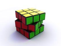 Cubo de Rubik ilustração stock