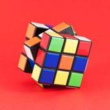 Cubo de Rubik Fotografia de Stock Royalty Free
