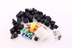 Cubo de Rubik Foto de archivo libre de regalías