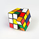 Cubo de Rubik Fotos de Stock Royalty Free