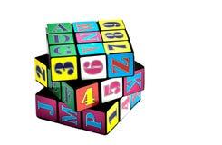 Cubo de Rubik Imagen de archivo