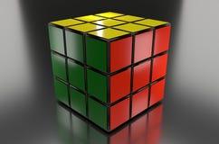 Cubo de Rubik Fotografia de Stock