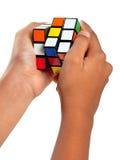 Cubo de Rubiks Fotografía de archivo