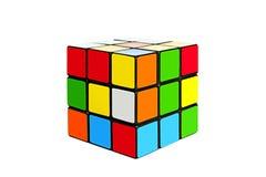 Cubo de Rubix Imágenes de archivo libres de regalías