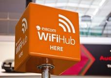 Cubo de WiFi fotografia de stock royalty free