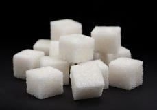 Cubo del azúcar Imagen de archivo libre de regalías