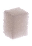 Cubo del azúcar blanco Fotografía de archivo libre de regalías