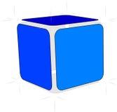 Cubo del bosquejo Fotos de archivo