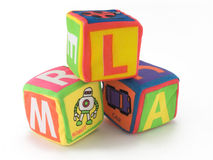 Cubo del giocattolo Fotografia Stock Libera da Diritti