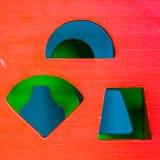 Cubo del giocattolo Fotografie Stock Libere da Diritti
