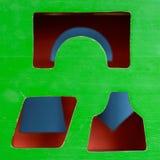 Cubo del giocattolo Fotografie Stock
