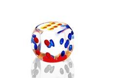 Cubo del gioco Immagine Stock