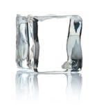 Cubo del hielo Fotos de archivo