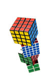 Cubo del Rubik immagini stock libere da diritti