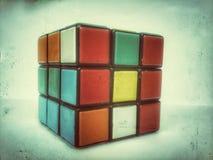 Cubo del Rubik Immagini Stock