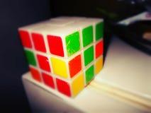 Cubo del ` s di Rubik Fotografie Stock